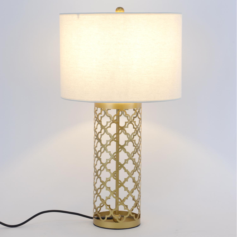 Lampe de table Tunis Métal Or