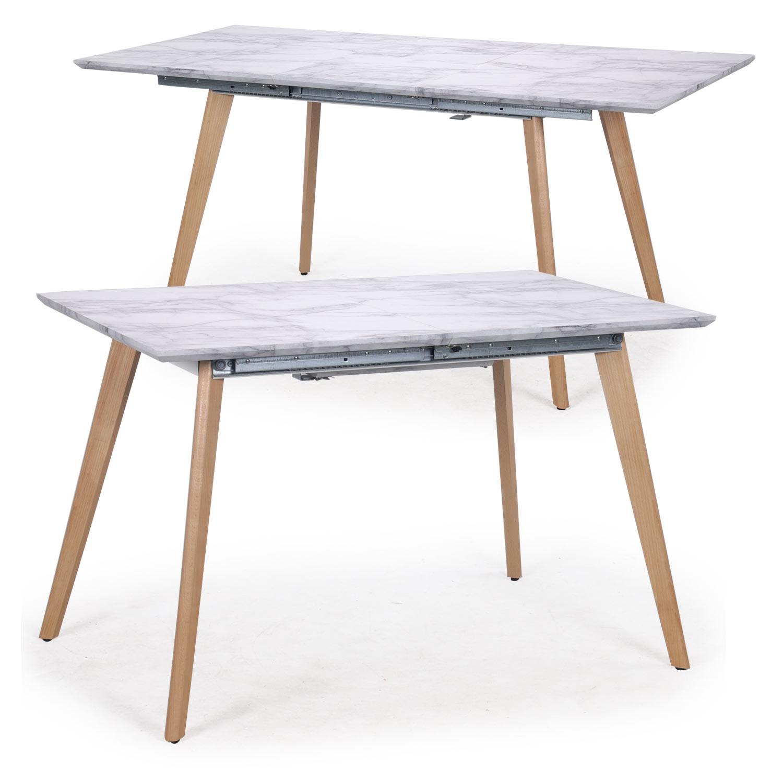 Table extensible Bilbao Marbre