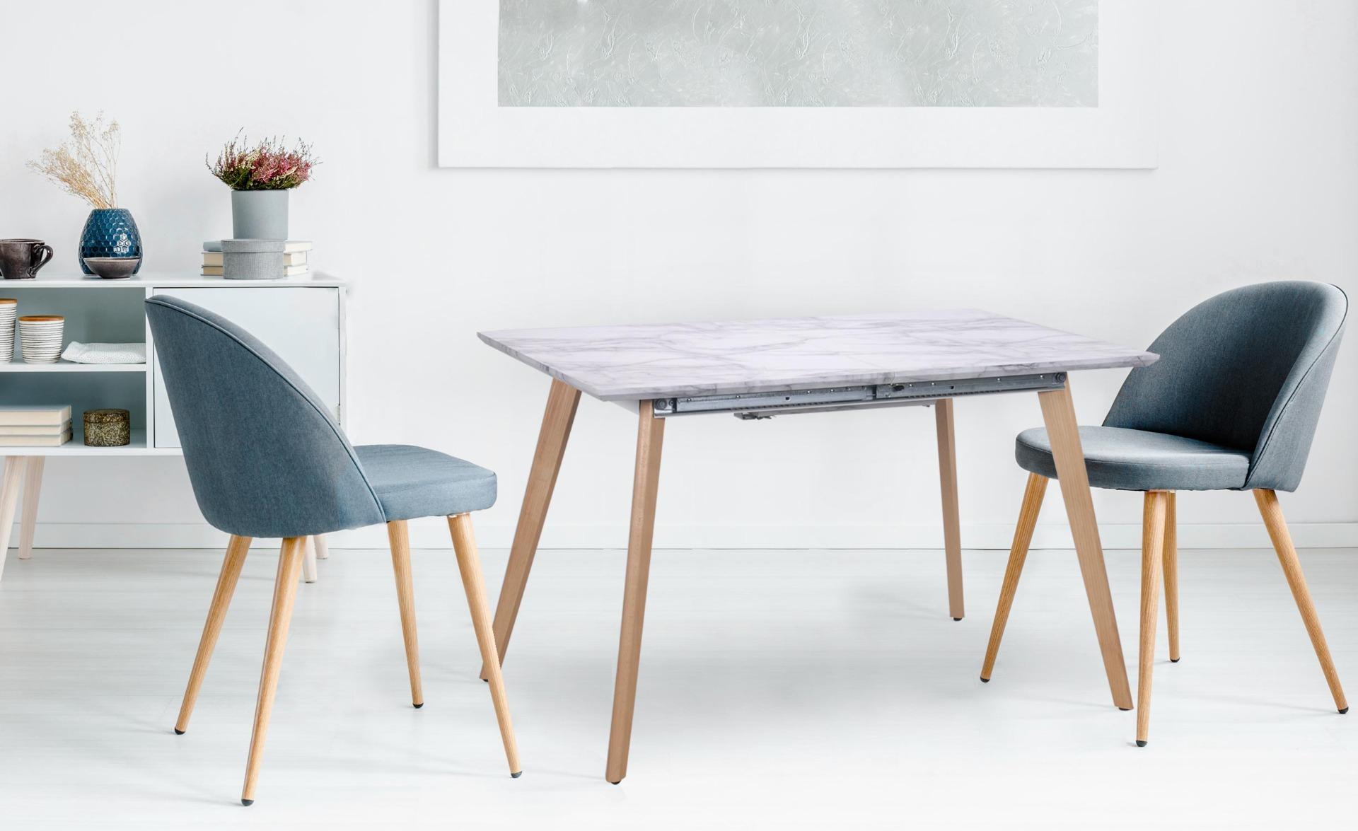 Bilbao Ausziehbarer Tisch mit Marmor Effekt