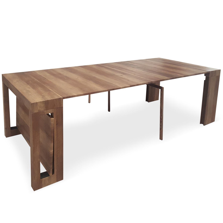 Chay Ausziehbarer Konsolentisch Vintage Holz
