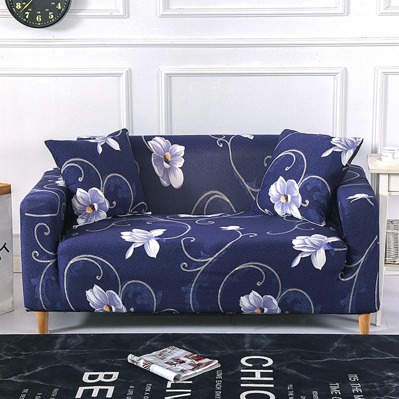 Stretch-Sesselbezug Decoprotect Fleur 1-Sitzer Alona