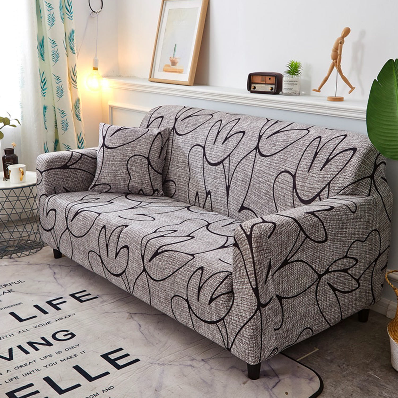 Angelica Decoprotect Fleur 1-Sitzer-Stretch-Sesselbezug