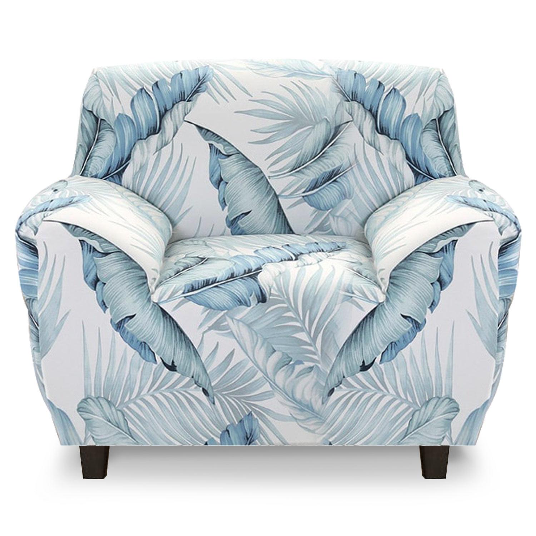 Housse de fauteuil extensible Decoprotect Fleur 1 place Beverly
