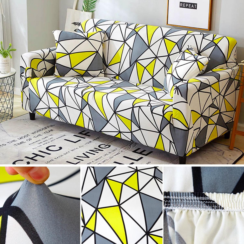 Omega Decoprotect Geometric 1-Sitzer Stretch Sesselbezug