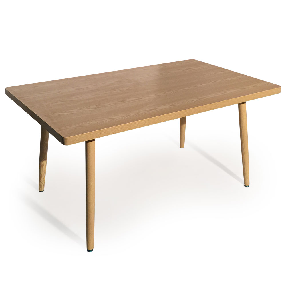 Table rectangulaire scandinave Nora Frêne