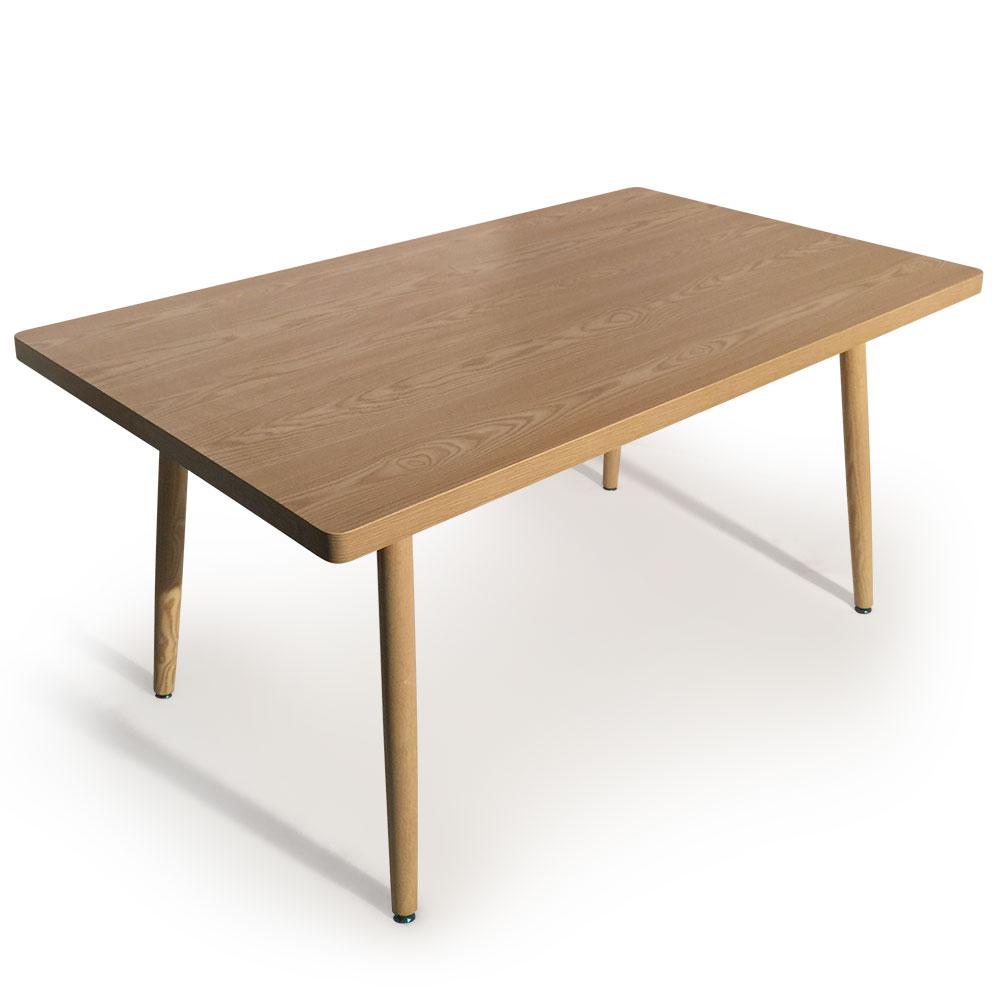 Nora Rechteckiger Tisch im skandinavischen Stil Esche