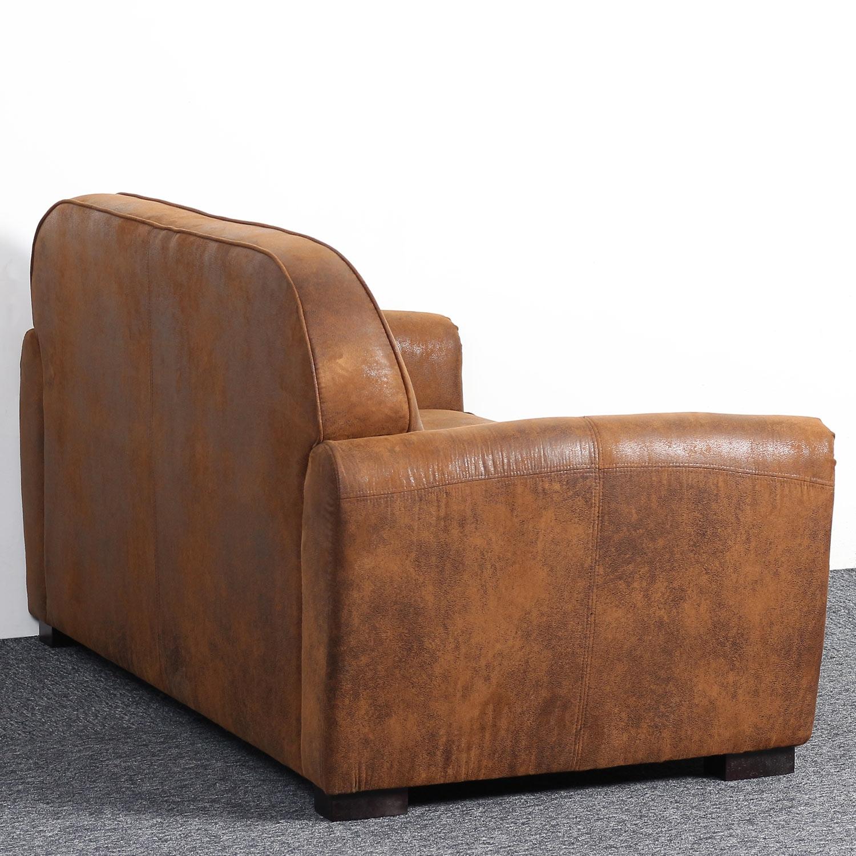 Club Perle 2-Sitzer Sofa mit Stoffbezug Vintage