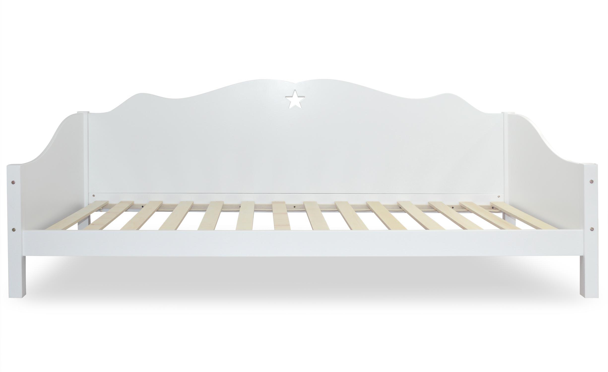 Starfly Tagesbett für Kinder Weiß