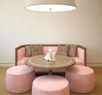 Entscheiden Sie sich für einen runden Designer-Tisch